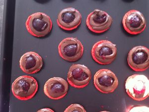 Macarons façon &quot&#x3B;mon chéri&quot&#x3B;