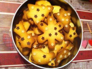 Sablés de Noël au beurre salé