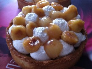 Tartelettes pommes et crème vanillée