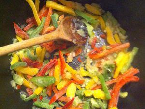 j'ai changé de casserole entre temps (les alèas des recettes au pif)
