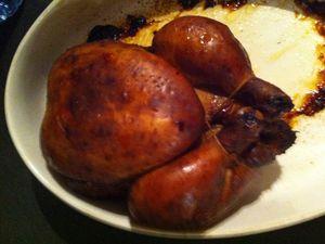 Cari poulet fumé Dukan