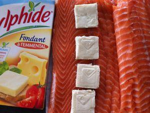 Filet de saumon farci à l'italienne Dukan