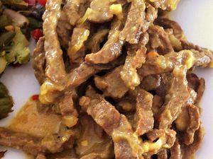 Boeuf rendang &quot&#x3B;cuisine indonésienne&quot&#x3B; Dukan
