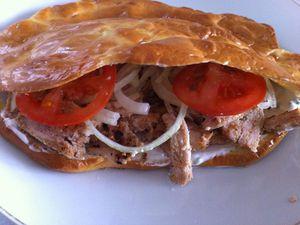 Kebab  sauce blanche 100% pp Dukan