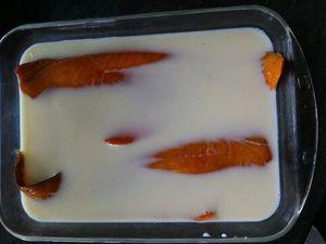 Gratin de haddock à la choucroute Dukan