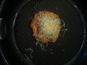Cauliflower grilled cheese &quot&#x3B; burger de chou-fleur au fromage&quot&#x3B; Dukan