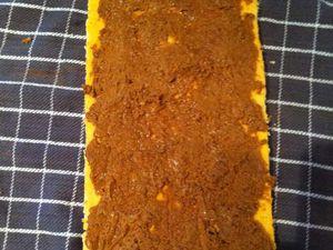 Gâteau roulé imprimé