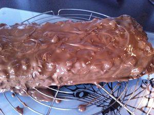 Tiramisu caramel, cacahuètes et chocolat façon snickers