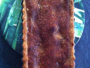 Tarte abricot et crème de pistaches