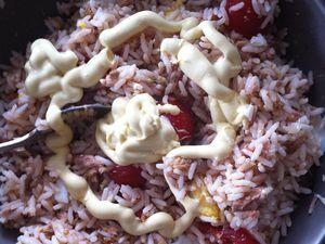 Salade de riz et thon à la provençale