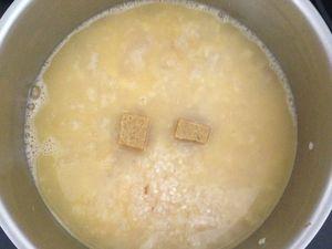 Risotto pancetta et parmesan