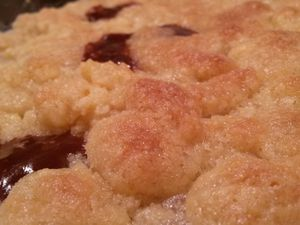 Crumble pommes carambars