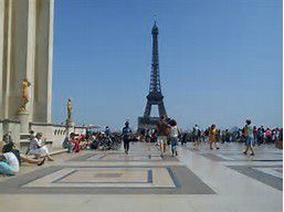 Petite balade dimanche au Trocadéro