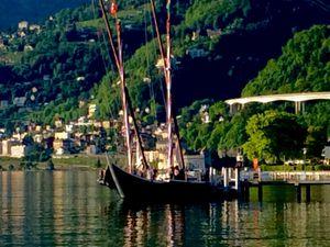 Villeneuve au bord du lac Léman
