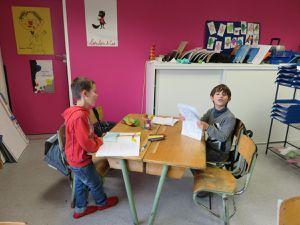Ateliers lecture et poésie ce1