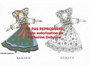 Dans UN album de coloriage, on peut mettre toute la France ! Jeu de l'Oie, dominos...