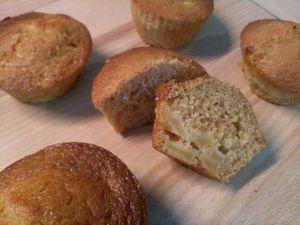 Muffins pommes aromatisés au caramel