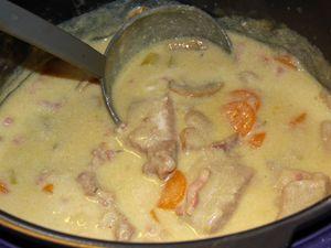 Blanquette de Veau au Cookéo