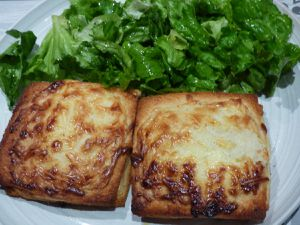 Croque Monsieur à Quatre-mains !!!