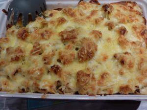 Gratin de Chou-fleur et pommes de terre