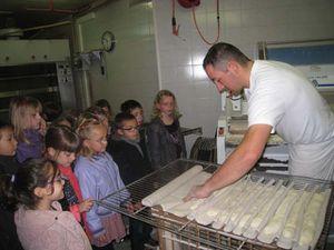 CP - CE1 Semaine du goût Visite Boulangerie Lemenant