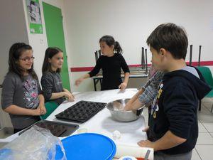 Atelier tartelettes au boudin noir et à l'andouille