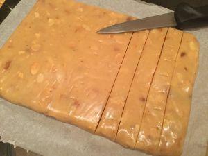 Caramels à la vanille et aux amandes