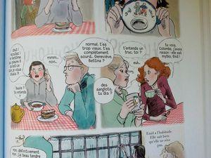 Extraits de planches, T1 Quatre soeurs, Malika Ferdjoukh et Cati Baur, éditions rue de Sèvres.