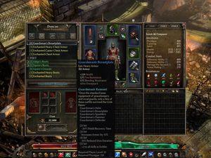 Ambiance, magie, artisanat, compétences et autres marchands de factions