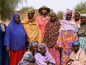 Une partie du groupe des femmes.