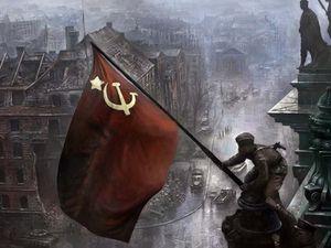 27 Janvier 1945, libération d'Auschwitz par l'Armée rouge&#x3B; le le 02 mai 1945 drapeau rouge est hissé au sommet du Reichstag à Berlin!&#x3B; Vétérans juifs de l'Armée rouge en Israël...