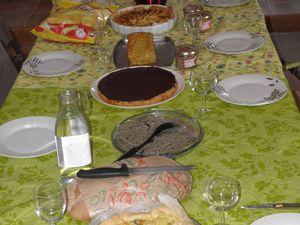 Les plats de l'auberge espagnole.
