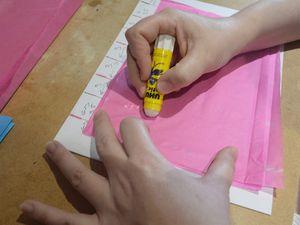 Boule à facettes en papier