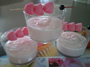 Mousse chantilly aux fraises tagada