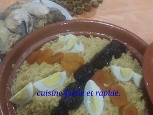 Tlitli en sauce blanche. تليتلي بالمرقة البيضاء