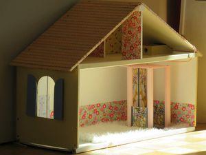 Opération &quot&#x3B;maison de poupées&quot&#x3B; 3ème étape : le 2ème étage