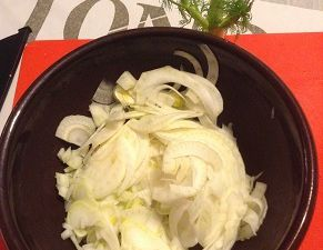 salade de fenouil et saumon