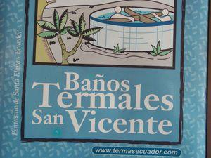 Baños de San Vicente - Santa Elena