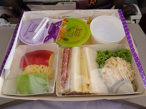 Encas avec Thai Airways
