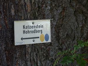 Arrivée au Katzenstein
