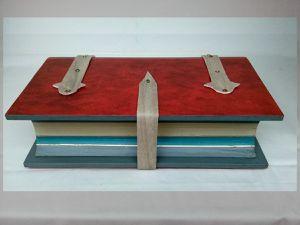 Effet garanti pour cette création de coffret bois sous forme de livre !!!