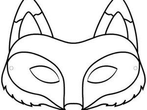 masque à imprimer - Maman à temps plein