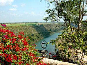 Le fleuve Rio Chavon