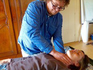 Gilles  Moussoux, praticien Samvahan