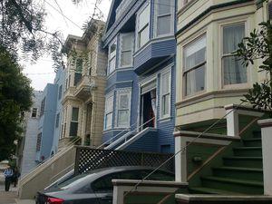 Les maisons bleues de San Francisco, et les autres...