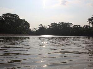 Puis une pause baignade bien méritée. L'eau était un poil fraiche mais avec la chaleur, ce fut bien agréable.