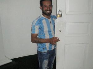 Visite de la Cathédrale San Pedro, dans le centre ville. Carlos nous a présenté à un ami qui joue de l'orgue.