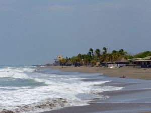 Journée sur la plage de las Peñitas
