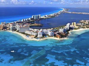 Cancun avant et après