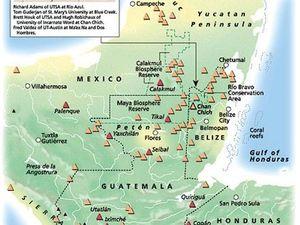 Aire géographique maya